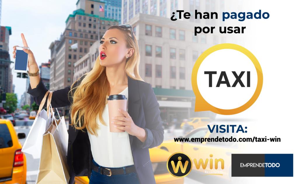 Taxi Win, es compartir.